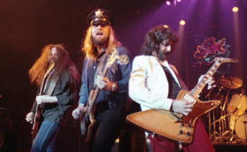 Picture of the band 38 Special in concert taken by Bill O'Leary