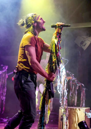 Picture of the band Magic Giant in concert taken by Breea Fournier