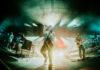 Picture of Bastille in concert taken by Darren Chan