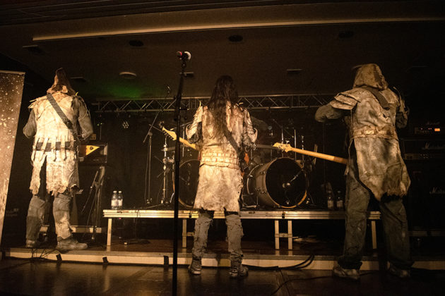 Picture of the band Istapp in concert taken by Lennart Håård