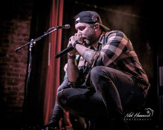 Picture of Tyler Rich in concert taken by Nick Hammonds