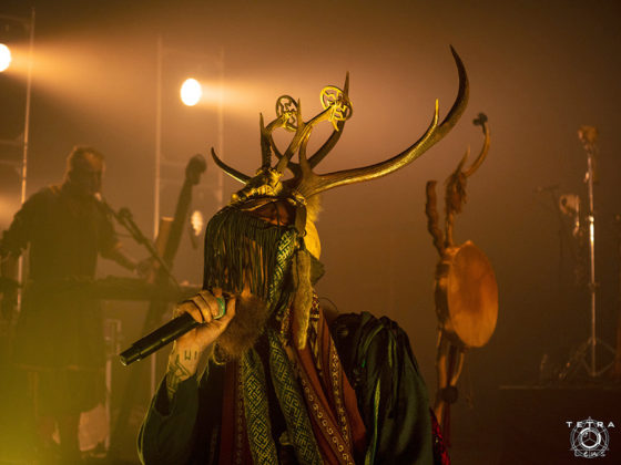 Picture of the band Heilung in concert taken by Emma Bauer