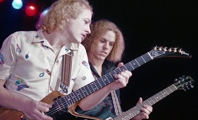 Picture of The Johnny Van Zant band in concert by Bill O'Leary