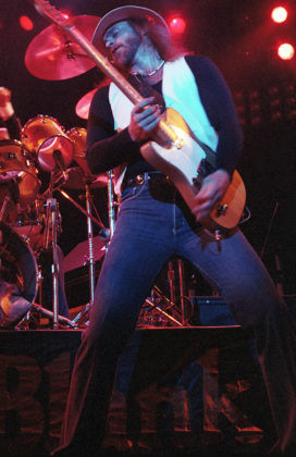 Picture of Point Blank in concert by Bill O'Leary