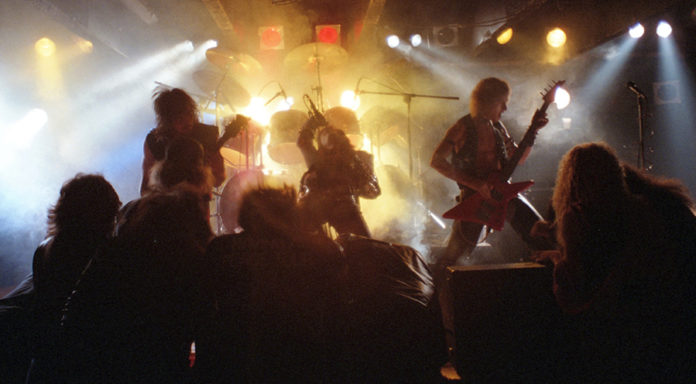 Picture of Satan's Host in concert by Bill O'Leary