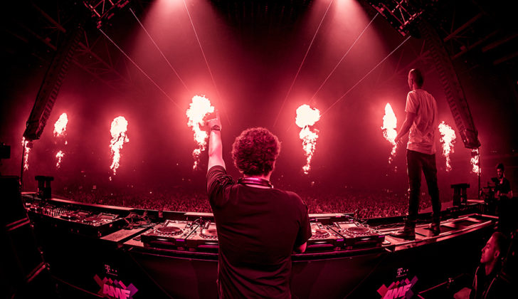 Picture of Vini Vici in concert by Gianluca Vitelli