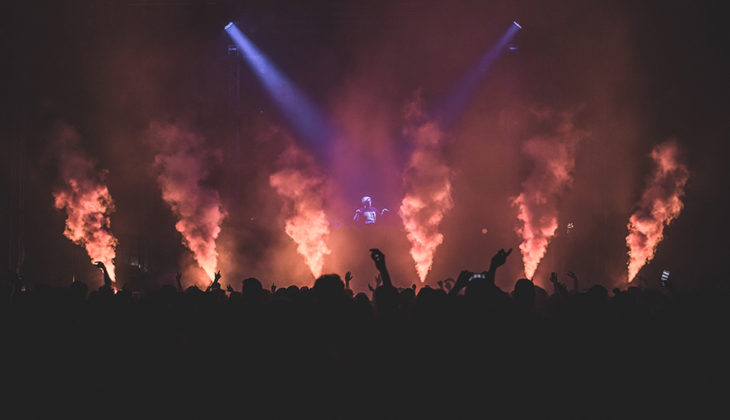 Picture of Flux Pavilion in concert by Gianluca Vitelli