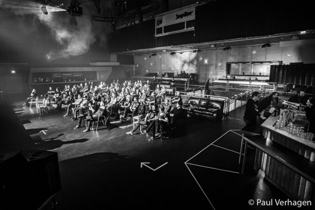 Picture of the Effenaar concert by Paul Verhagen
