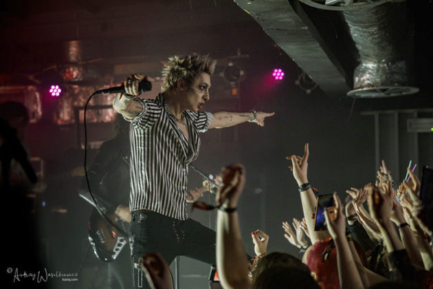 Picture of Palaye Royal in concert by Andrzej Wasilkiewicz