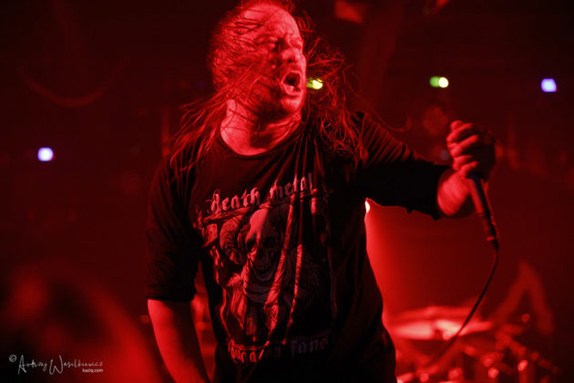 Picture of Entombed A.D in concert by Andrzej Wasilkiewicz