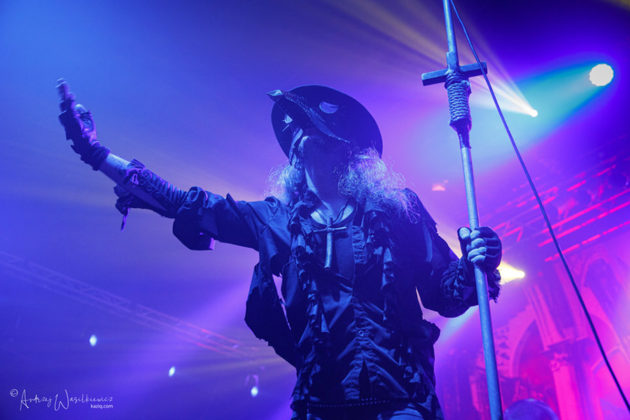 Picture of Moonspell in concert by Andrzej Wasilkiewicz