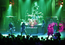 Picture of Mercyful Fate in concert by Bill O'Leary