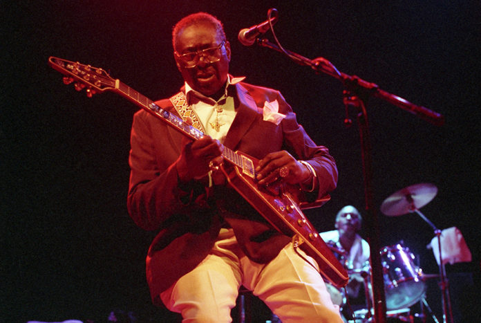 Picture of Albert King in concert by Bill O'Leary
