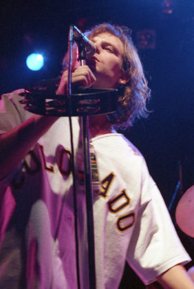 Picture of Gin Blossoms in concert by Bill O'Leary