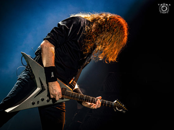 Picture of Megadeth in concert by Emma Bauer
