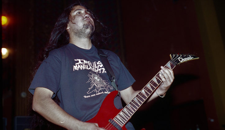 Picture of Napalm Death in concert by Bill O'Leary