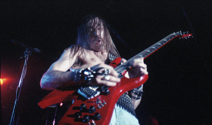 Picture of Whiplash in concert by Bill O'Leary