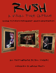 picture of Rush book cover by Bill OLeary