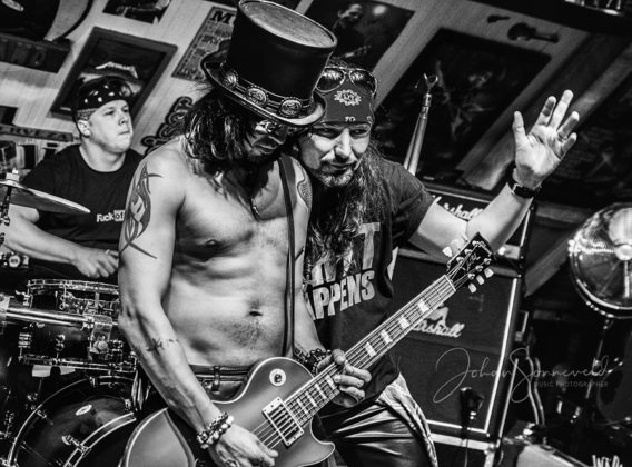 Picture of Slash N' Roses in concert with photography by Johan Sonneveld
