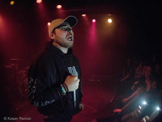 Picture of WAVY JONE$ in concert by Denmark music photographer Kasper Pasinski