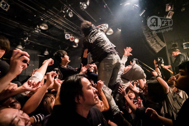 Picture of While She Sleeps in concert by Aki Fujita Taguchi