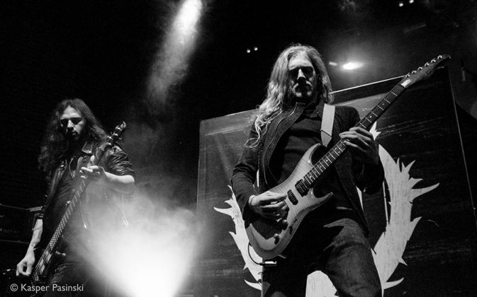 Picture of Nailed to Obscurity in concert by heavy metal music photographer Kasper Pasinski
