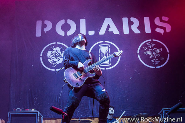 Picture of Polaris in concert with photography by Johan Sonneveld