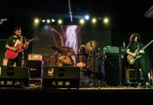 Picture of Psilocibina in concert with photography by Leca Suzuki