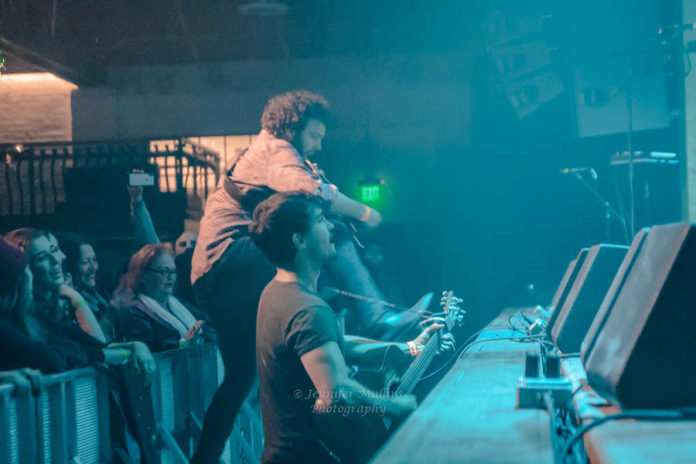 Picture of Jared & The Mill in concert by Jennifer Mullins