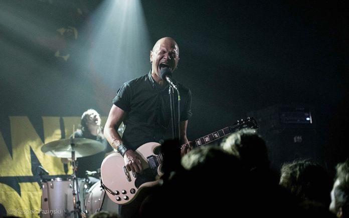 Picture of Danko Jones in concert with rock concert photography by Kasper Pasinski