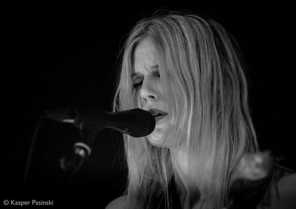 Picture of Myrkur in concert with Black metal music photography by Kasper Pasinski