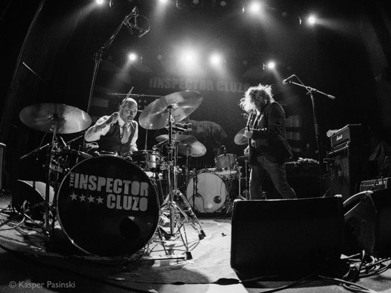 Picture of The Inspector Cluzo in concert with soul music photography by Kasper Pasinski