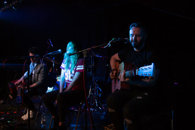 Picture of The City and Us concert with Alternative Indie band photography by Danni Fro
