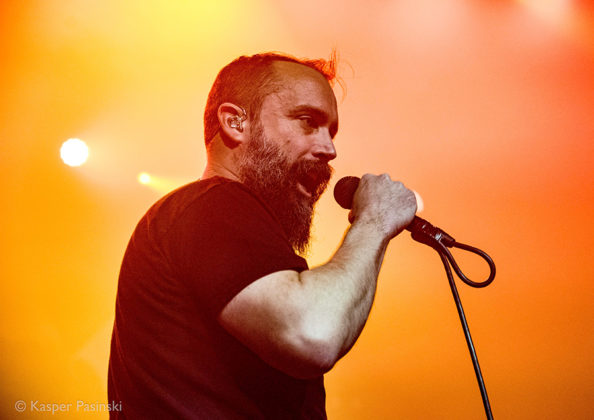 Picture of Clutch in concert with Rock band photography by Kasper Pasinski