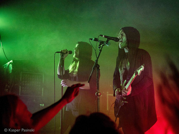 Picture of Zeal & Ardor in concert with Black metal music photography by Kasper Pasinski