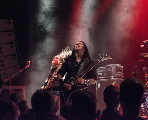 Picture of Gus G in concert with Heavy Metal photography by Johan Sonneveld