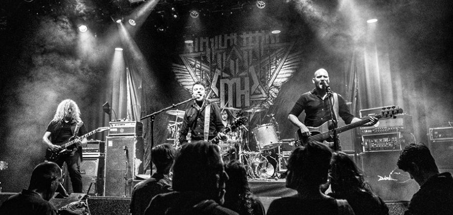Picture of Magical Heart in concert with melodic rock music photography by Johan Sonneveld