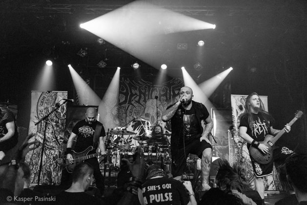 Picture of Benighted in concert by extreme Metal band photographer Kasper Pasinski
