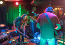Picture of Mississippi Nova in concert with rock concert photography by Jennifer Mullins