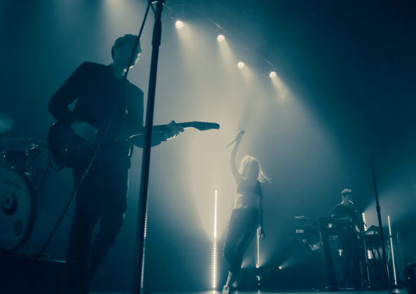 Picture of Lights in concert with Pop music photography by Vivian Danielle
