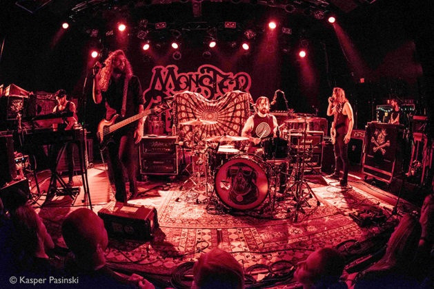 Picture of Monster Truck in concert with Rock concert photography by Kasper Pasinski