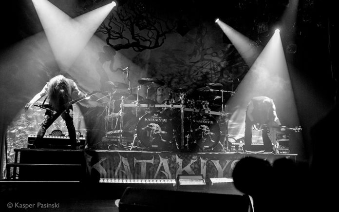 Picture of Kataklysm in concert with gig photography by Kasper Pasinski