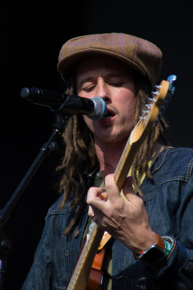 Picture of JP Cooper in concert with Ireland concert photography by Danni Fro
