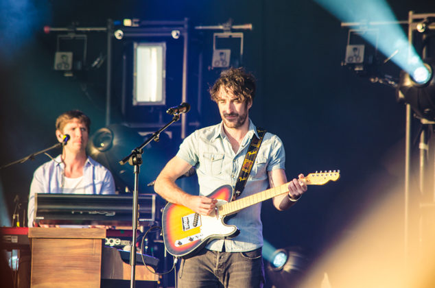 Picture of Coronas in concert with Ireland concert photography by Danni Fro