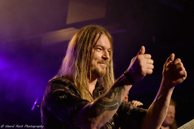 Picture of Masterplan in concert with heavy metal music photography by Lennart Håård