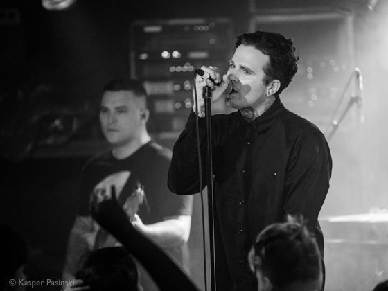 Picture of The Amity Affliction in concert with Metalcore music photographer Kasper Pasinski