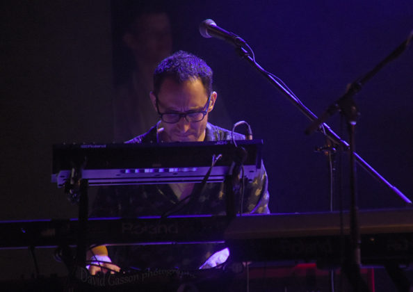 Picture of Avishai Cohen in concert by Jazz concert photographer by David Gasson