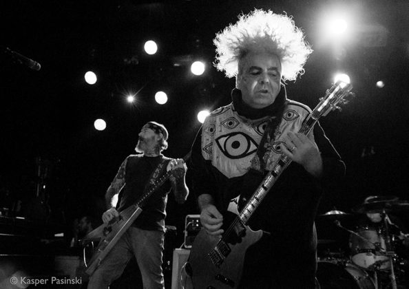 Picture of Melvins in concert with Rock photography by Denmark music photographer by Kasper Pasinski