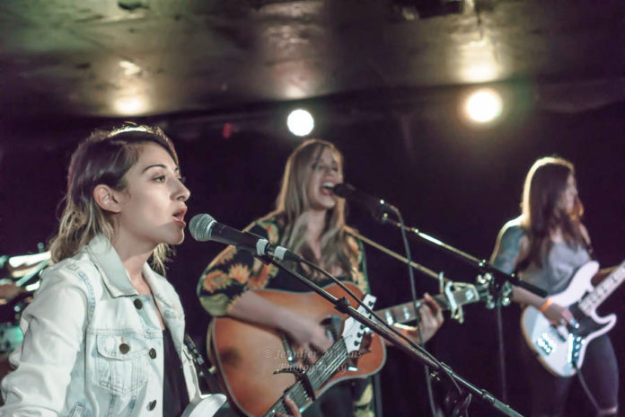 Picture of The Secret Destroyers in concert by Indie music photographer Jennifer Mullins