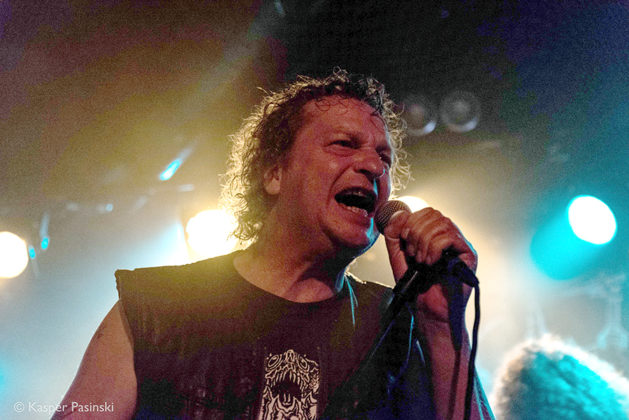 Picture of Voivod in concert by Heavy metal photography by Denmark photography by Kasper Pasinski